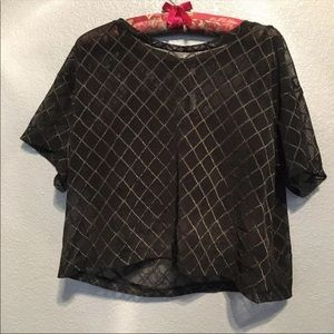 Victoria's Secret sport mesh work out top large